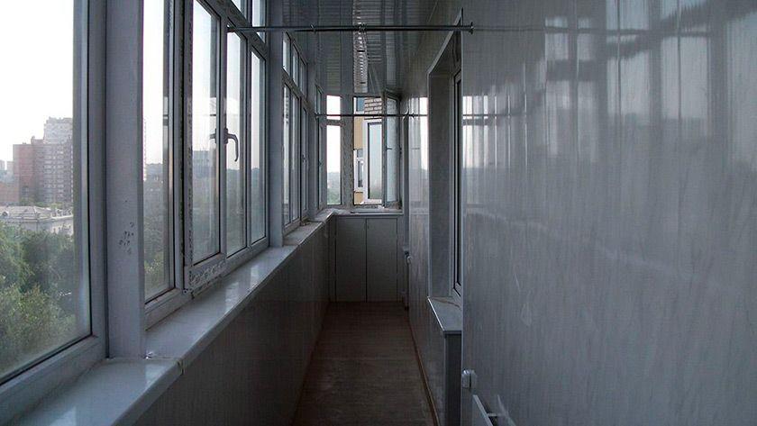 Застеклить балкон алюминиевым профилем в ростове-на-дону.